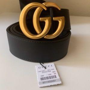 hNew Gucci Belt Âüthentïć Double G Marmot